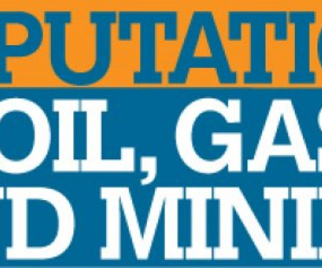 OPC Sponsors Reputation in Oil & Gas event
