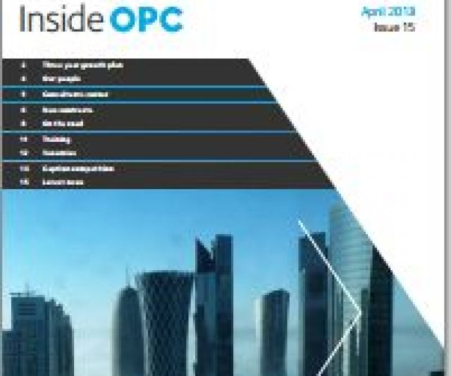 Inside OPC – a fresh view on the E&P sector