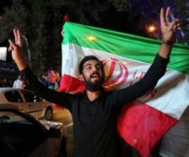 Edna witnesses Tehran's celebrations