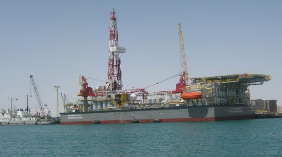 Commissioning and drilling crew – Caspian
