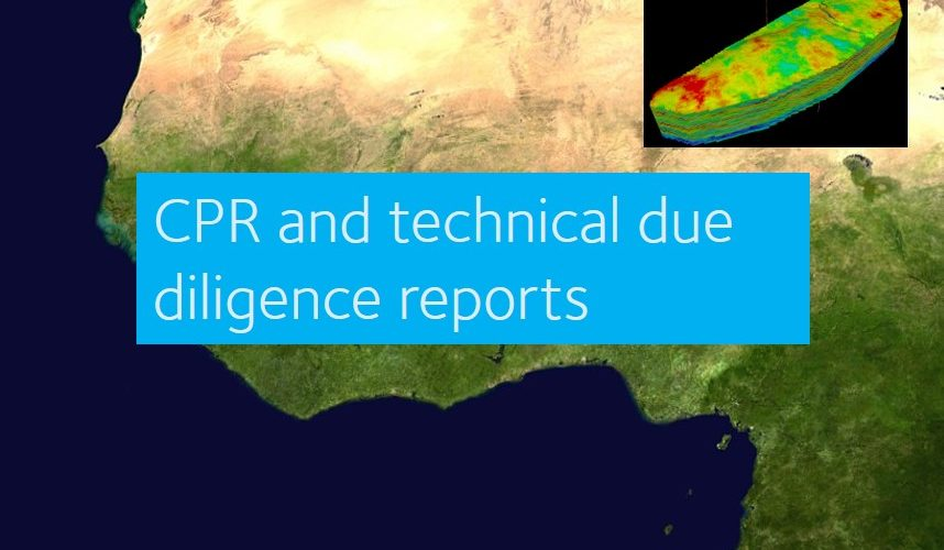 CPR and technical due diligence reports