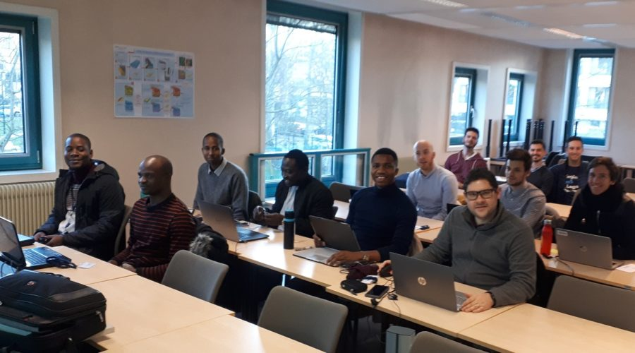 Well test training at IFP school in Paris